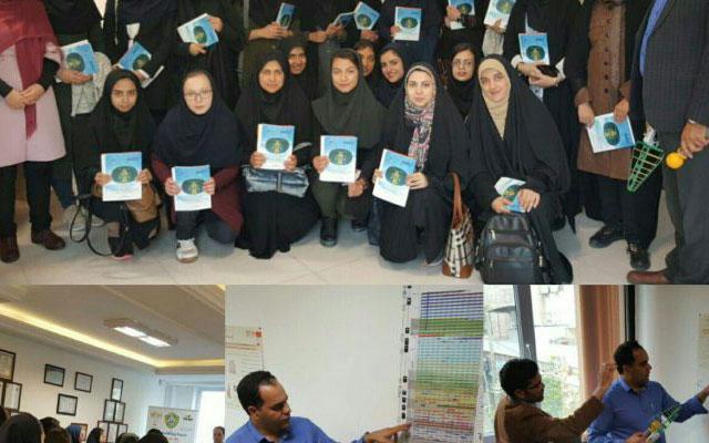 بازدید دانشجویان دانشگاه صنعتی اصفهان از شرکت سلامت سینا مستقر در پارک شریف