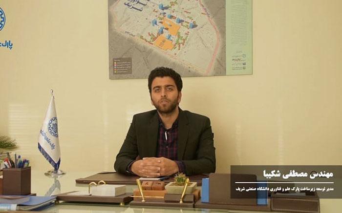 برنامه پارک علم و فناوری شریف جهت توسعه ناحیه نوآوری شریف