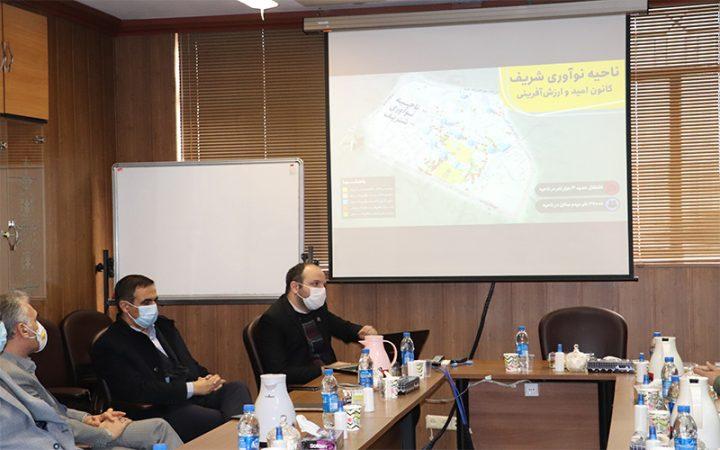 بازدید مدیران تحقیقات فاوای ناجا از مرکز رشد شریف