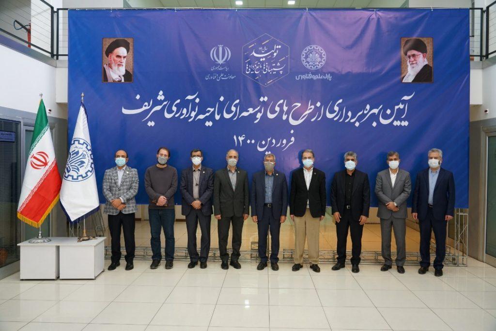 رییس جمهور در مراسم رونمایی از طرح های ملی دانشبنیان